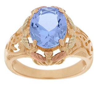Product image of Black Hills Gold Bold Helenite Ring 10K/12K
