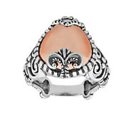 Carolyn Pollack Sterling Sincerely Fabulous Mixed Metal Ring - J311096