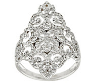 Lace & Filigree Design Diamond Ring  14K, 3/4 cttw, by Affinity - J319196