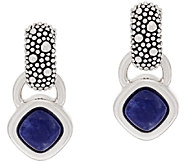 Michael Dawkins Sterling Starry Night Sodalite Earrings - J320296