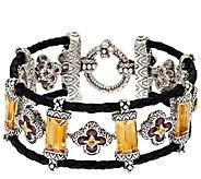 Barbara Bixby 27.80 cttw Multi-Gemstone Baguette Bracelet 8 - J320396