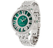 Judith Ripka Stainless Steel Silvertone London Watch - J322496