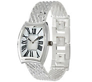 UltraFine Silver Adjustable Riccio Watch - J326696