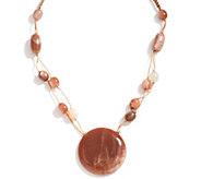 Lola Rose Parker Gemstone Adjustable Necklace - J349396