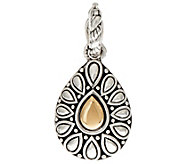 JAI Sterling Silver & 14K Gold Lotus Petal Enhancer - J351696