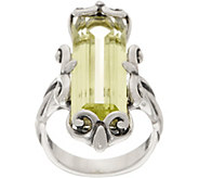 Carolyn Pollack Sterling Silver Baguette Quartz Ring - J352696
