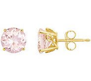 2.00 ct tw Morganite Gemstone Stud Earrings14KGold - J300597
