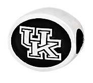 Sterling Silver University of Kentucky Bead - J300797
