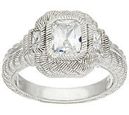 Judith Ripka Sterling & Diamonique 1.85 cttw Ring - J320297
