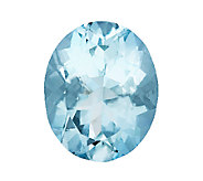 Premier 10x8mm Oval Loose Aquamarine Gemstone - J336097