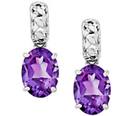 Sterling Choice of Oval Gemstone Dangle Earrings - J336697