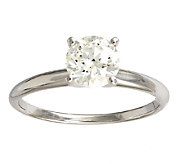Diamond Solitaire Ring, 1cttw, 14K White Gold ,by Affinity - J339397