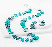 Linea by Louis DellOlio Nugget Necklace and Earring Set - J353997