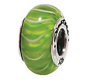 Prerogatives Sterling Green Glass Bead - J108798