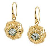 Arte DOro 1.20 ct tw Gemstone Dangle Earrings,18K - J112998