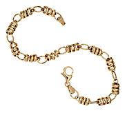 EternaGold 8 Polished Status Link Bracelet 14K Gold, 4.0g - J295598