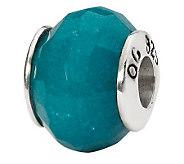 Prerogatives Sterling Light Blue Quartz Gemstone Bead - J298198