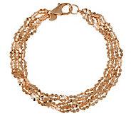 Bronzo Italia 8 Starburst Multi-strand Link Bracelet - J313798