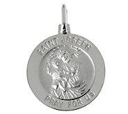 UltraFine Silver Saint Joseph Pendant - J314898