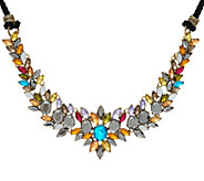 LOGO Links by Lori Goldstein Vibrant Cluster Necklace - J334298