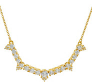 Judith Ripka Sterling/14K Clad_4.35 cttw Diamonique Necklace - J346698