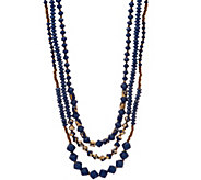 31 Bits Mystic Multi Layers Necklace - J351598