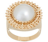 Imperial Gold Cultured Mabe Pearl Ring, 14K Gold - J352298