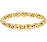 Oro Nuovo Average Woven Byzantine Bangle 14K - J319399
