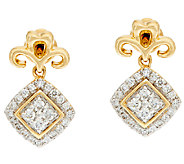 Michael Beaudry 1/3 cttw Diamond Stud Earrings, 14K Gold - J322599