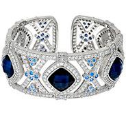Judith Ripka Sterling Doublet Arabella Cuff Bracelet - J326499