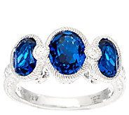 Judith Ripka Sterling Silver Simulated Gemstone Ring - J326799