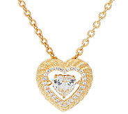 Judith Ripka 14K Clad Diamonique Twinkle Necklace - J327899