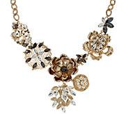 As Is Susan Graver Floral Statement Necklace - J333399