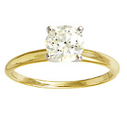 Diamond Solitaire Ring, 1cttw, 14K Yellow Gold, by Affinity - J339399