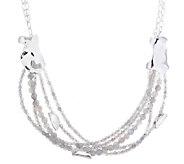 Hagit Sterling Labradorite Bead Layered Necklace - J339699