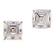 Diamonique ClickSecure 2.00 cttw Stud Earrings, Sterling - J353199