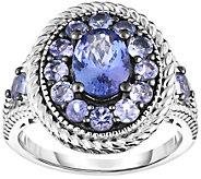 Sterling 2.25 cttw Tanzanite Ring - J375999