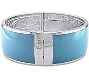 Laura Ashley Pastel Color Enamel Bangle - J376099