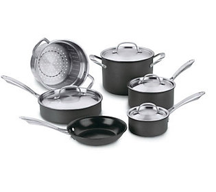 Cuisinart Green Gourmet Nonstick 10 Piece Cookware Set