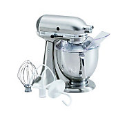 KitchenAid 5-Qt Metallic Series Stand Mixer- Chrome - K298300