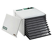 Omega 9-tray Food Dehydrator with 26-Hour Timer - K299100