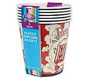 Nostalgia Electrics 4-Qt Reusable Plastic Popcorn Buckets - K299500