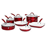 Bella 11-Piece Aluminum Cookware Set - K303300