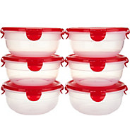 Lock & Lock 6-piece Bowl Set - K35900