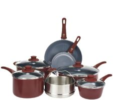 Green Pan 11-piece Cookware Set with Ceramic Nonstick