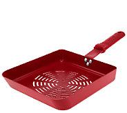 Rectangle Non-stick BBQ 8x10Saute Pan by MarkCharles Misilli - K42300