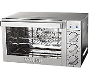 Waring 0.9 Cu. Ft. Commercial Countertop Convection Oven - K301801