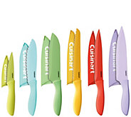 Cuisinart Advantage 12-Piece Ceramic Coated Color Knife Set - K305301