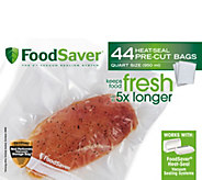 FoodSaver Quart Bags, 44 count - K375101