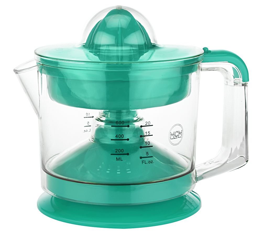 Electric Juicer Pitcher ~ Electric citrus juicer and pitcher page — qvc